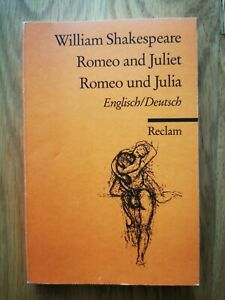 "William Shakespeare ""Romeo and Juliet"" ""Romeo und Julia"""