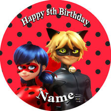 Miraculous Ladybug EDIBLE  ICING  CAKE TOPPER PARTY IMAGE FROSTING SHEET