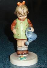 Little Gardener Goebel Hummel #74 TMK7 ARTIST PROMOTION Malvorfuhrung Figurine