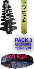 3 Protector Pala Padel Personalizado 100% Carbono y más No+Crash® nomascrash