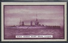 GALLAHER-BRITISH NAVAL SERIES-#44- HMS QUEEN MARY