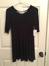 Free People T shirt dress black XS