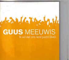 Guus Meeuwis-Ik Wil Dat Ons Land Juicht  Live cd single