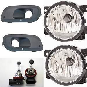 KIT FENDINEBBIA 2 GRIGLIE + 2 LAMPADE FIAT PANDA 2012 IN POI DX SX (KIT 6 PEZZI)