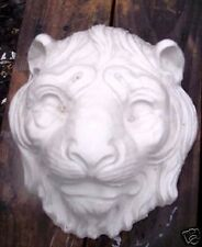 Plaster concrete LION tiger heavy duty plastic mold