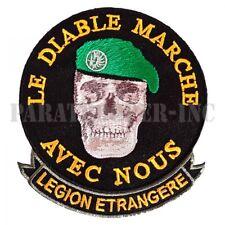 Patch / Ecusson - Le Diable Marche avec Nous (Légion Etrangère)