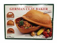 West Germany Scheurich Clay Baker cooker Schlemmer-topf schlemmertopf NIB