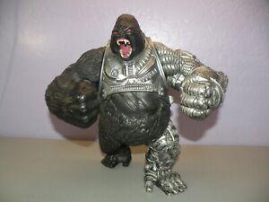 Mcfarlane Raw10 Cy-gor Cybernetic Silverback Gorilla Figure Raw 10 Cygor Loose