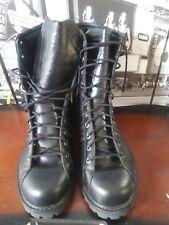 2005 RARE🔥 Adidas Muhammad Ali Combat Boots Black Leather  MEN'S  14  EU 49