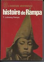 Histoire de rampa : t. lobsang rampa l'aventure mysterieuse