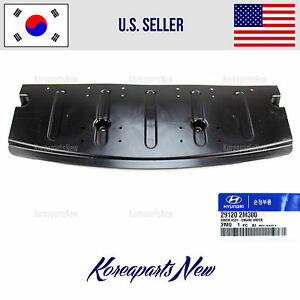 COVER ENGINE UNDER FRONT (GENUINE) 291202M300 HYUNDAI GENESIS COUPE 2013-2017