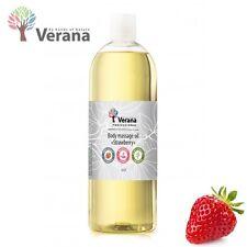 Verana Strawberry Natural Body Massage Oil 1 Liter