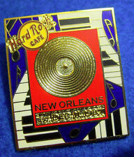 New listing New Orleans Gold Record Frame Series Piano Keyboards & Music Hard Rock Cafe Pin