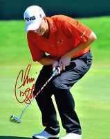 CHRIS STROUD signed 8x10 PGA GOLF photo with COA