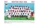 1977 BOSTON RED SOX 8X10 TEAM PHOTO BASEBALL FENWAY HOF USA YASTRZEMSKI RICE