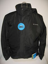 #5106 NEW NWT COLUMBIA OMNI TECH WATERPROOF BREATHABLE  POLY JACKET MEN'S LARGE