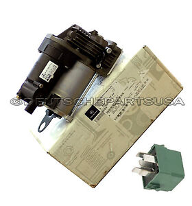 MERCEDES EO W221 W216 S CL AIR PUMP SUSPENSION COMPRESSOR + RELAY 2213201704