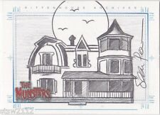 THE MUNSTERS SEAN PENCE THE HOUSE SKETCHAFEX SKETCH UNRELEASED EXTREMELY LIMITED