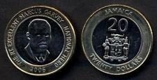 JAMAICA 20 Dollars 2006 Marcus Garvey bimetallic UNC