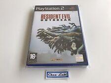 Resident Evil Outbreak - Sony PlayStation PS2 - FR - Neuf Sous Blister