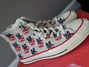Converse Chuck Taylor All Star 70 Hi Election Day Egret Hi Size 10.5 MSRP $120
