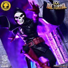 Mezco Doc Nocturnal action figure with Membership Kit and Crimson Cranium 2 pack