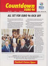 COUNTDOWN EURO 96 No 7 MAY 1996  INC WELCOME TO LONDON & NEWCASTLE 12 A4 PAGES