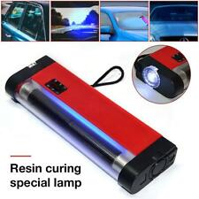 UV Cure Lamp Ultraviolet UV Light for Car Auto Glass Windshield Repair Kit