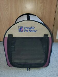 "Petmate Portable Pet Home, SIZE MEDIUM, 10-20 LB PETS 17"" X 16"""
