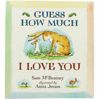 Guess How Much I Love You Book Chart, Sam McBratney, Very Good Book