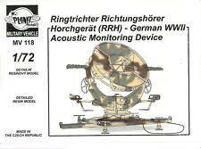 Planet Models 1/72 (20mm) Ringtrichter Richtungshörer Horchgerät (RRH)
