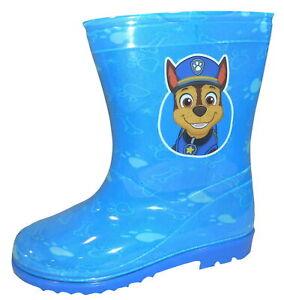 Paw Patrol Boys Wellington Rain Boots