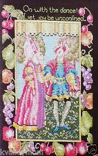 ROYAL RABBITS~Cross Stitch Pattern~Marie Barber~Bunnies in Regal Court Clothing