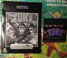 Toki Atari LYNX Game New No Box