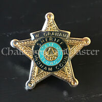 A3 Windham County Sheriff Vermont Police Lapel Pin
