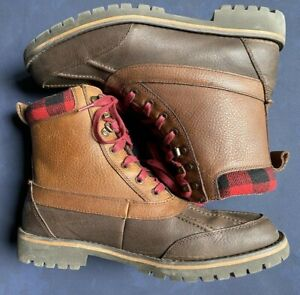 Roebuck & Co Men's Wifred Hiking Boot Brown 10.5 M