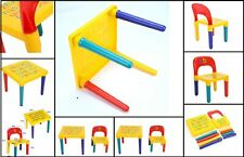ABC Alphabet Children Plastic Table And Chair Set Gift Kids Toddlers Child XMAS