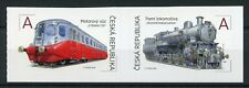 Czech Republic 2018 MNH Steam Locomotives & Wagon 2v S/A Set Trains Rail Stamps
