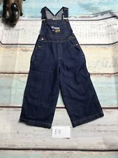 Tommy Girl, Suhi Usa Size Medium Blue denim Overall Capri Pants
