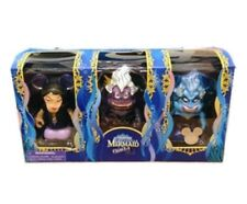 "DISNEY VINYLMATION 3"" THE LITTLE MERMAID URSULA 2013 SET OF 3 BLUE DARK VANESSA"