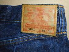 Men's LVC Levi's Vintage Clothing Cone Mills Selvage 1947 501 XX Jeans 36X30 -E3
