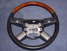05-10 Chrysler 300C / Charger / Magnum Slate Leather & Woodgrain Steering Wheel