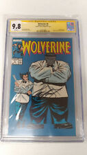 Wolverine #8 CGC 9.8 Signed by Chris Claremont