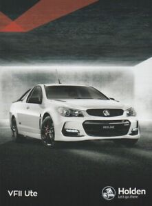 Holden Commodore VF Series II Ute Brochure. Final 12.2016