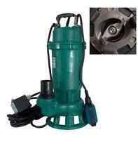 1,1 KW Schneidwerk 18000l/h Schmutzwasserpumpe,Tauchpumpe,Fäkalienpumpe,Baupumpe