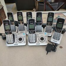 Vtech Cordless Phone Answering Machine System 8 Handsets CS6429-4 DECT 6.0