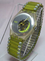 GK408 Swatch 1998 Spok Date Fluorescent Authentic Artistic