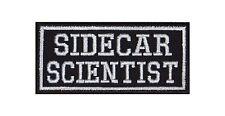 Sidecar Scientist Biker Patches Aufnäher Motorrad MC Rocker Bügelbild 3 Wheeler
