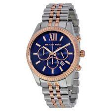 Mens Michael Kors Lexington Chronograph Watch MK8412 100 Genuine