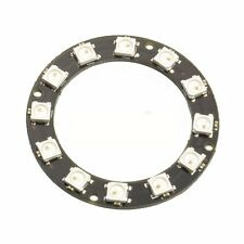 RGB LED Ring 12 Bit WS2812 5050 RGB LED + Integrated Driver Module Arduino
